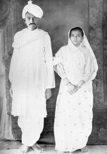 jinnah and gandhi relationship with wife