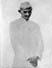Gandhi in 'Gandhi Cap' , 1920