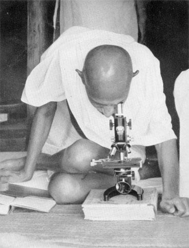 Gandhi as a Scientist