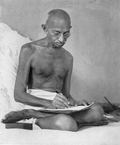 Mahatma Gandhi letters