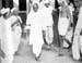 Gandhi with Sardar Patel visits plague-stricken villages in Borsad, May 1935