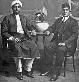 Imam Bawazeer and Thambi Naidoo