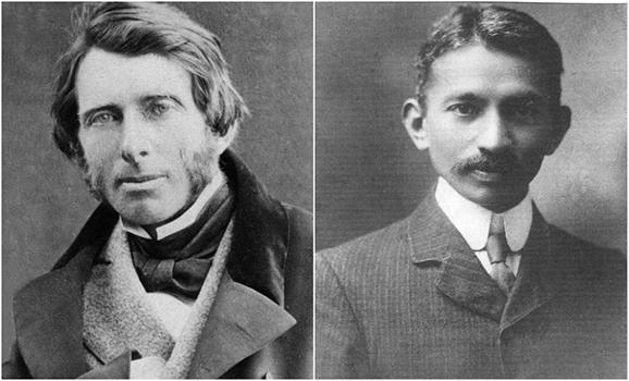 John Ruskin and Mahatma Gandhi