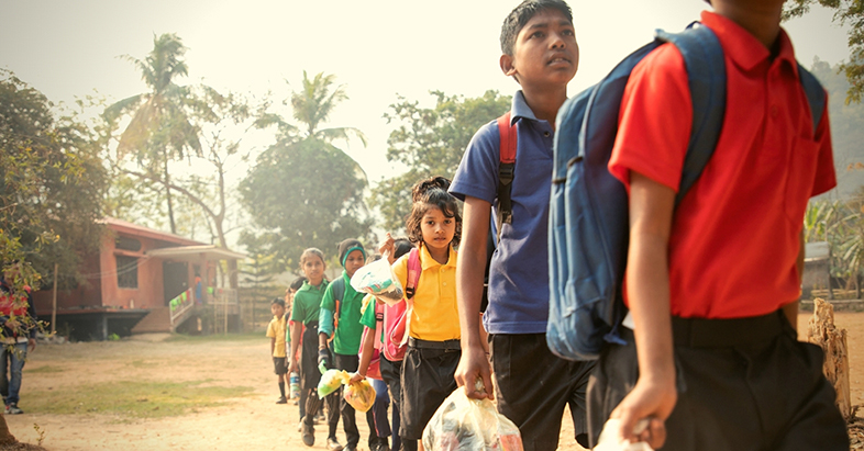 Assam-unique-school-accepts-plastic-waste-as-fees