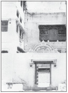 Gandhiji's birthplace at Porbunder