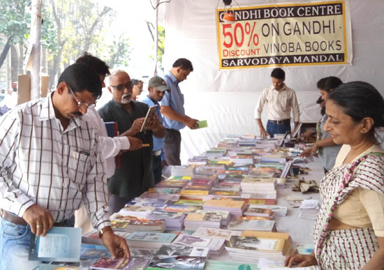Participation of youngsters boosts sale of Gandhi books