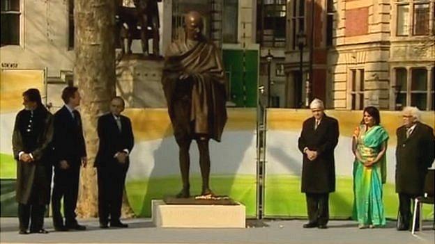 mahatma-gandhi-statue-unveiled-parliament-square-britain