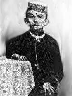 Gandhi at the age of 7