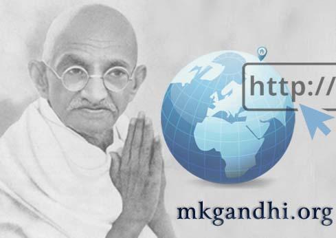 mkgandhi.org-Mahatma Gandhi website