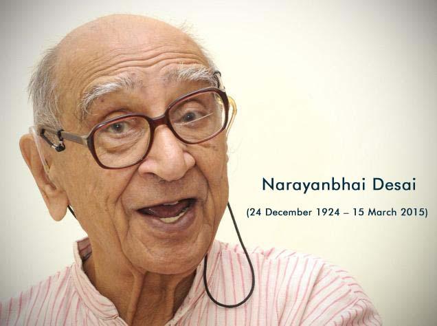 Narayan Mahadev Desai