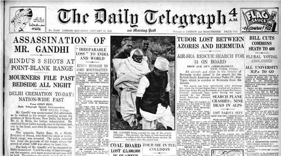 When newspapers across the world mourned the loss of Mahatma Gandhi | Gandhi's Last Days