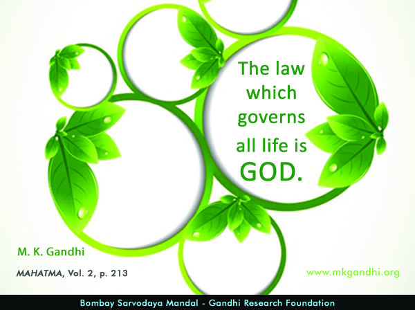 #MahatmaGandhi #Quotes on #God
