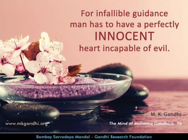 Mahatma Gandhi Quotes on Innocent