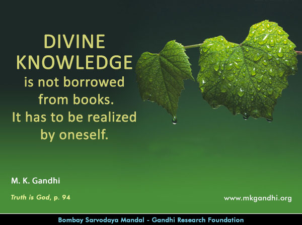 Mahatma Gandhi Quotes on Divinity