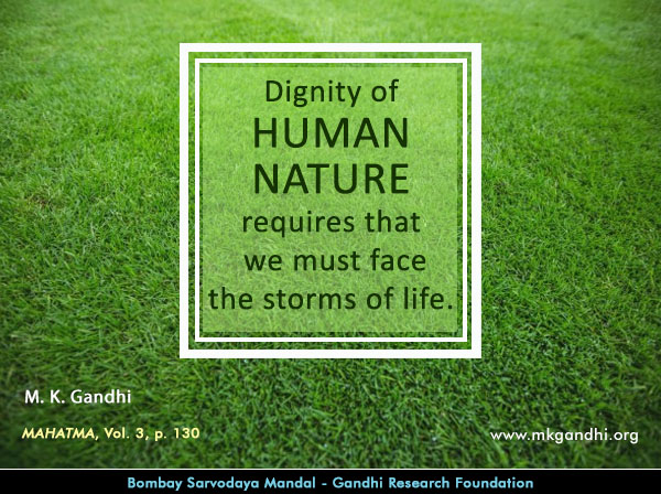 Mahatma Gandhi Quotes on Human Nature