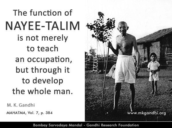 Mahatma Gandhi Quotes on Basic Education