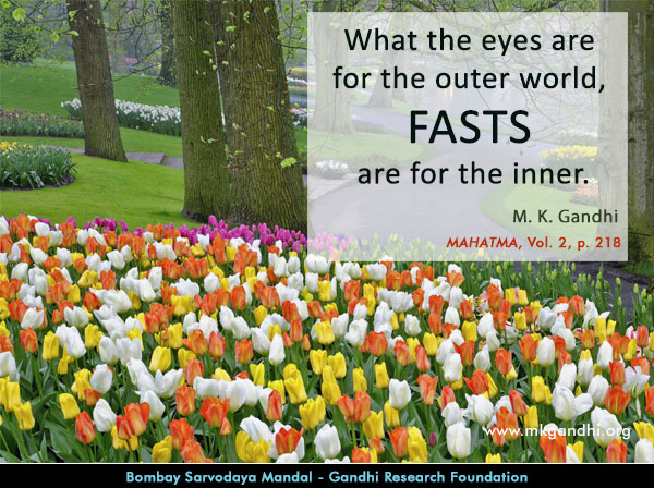 Mahatma Gandhi Quotes on Fast