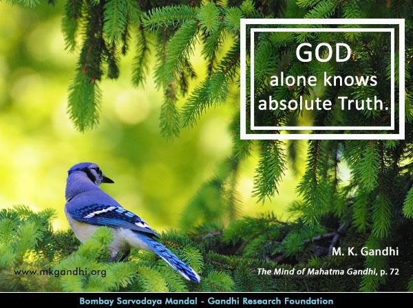 Mahatma Gandhi Quotes on God