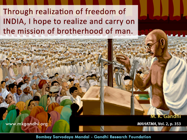 Mahatma Gandhi Quotes on India