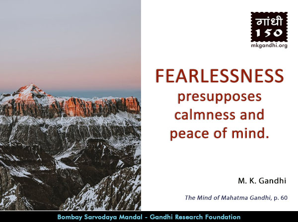 Mahatma Gandhi Quotes on Fearlessness