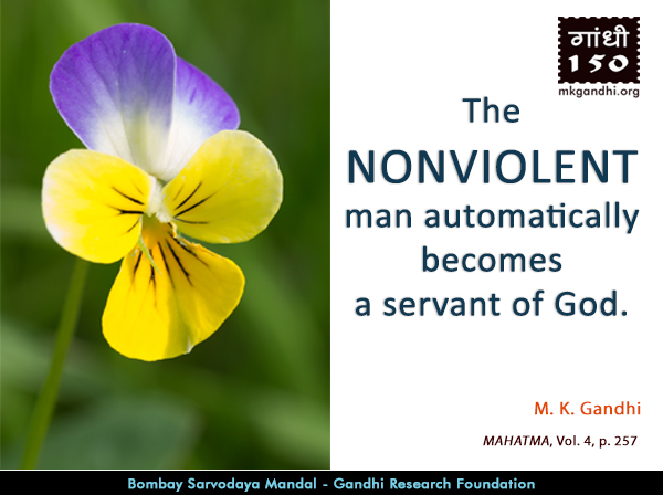 Mahatma Gandhi Quotes on Nonviolent