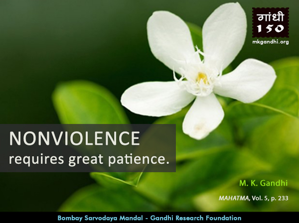Mahatma Gandhi Quotes on Nonviolence