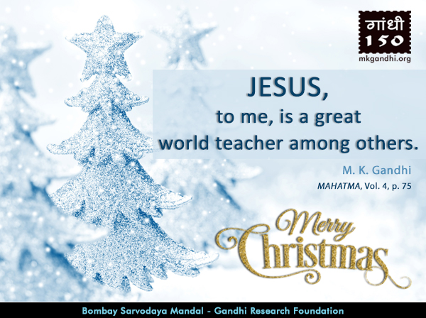 Mahatma Gandhi Quotes on Jesus Christ