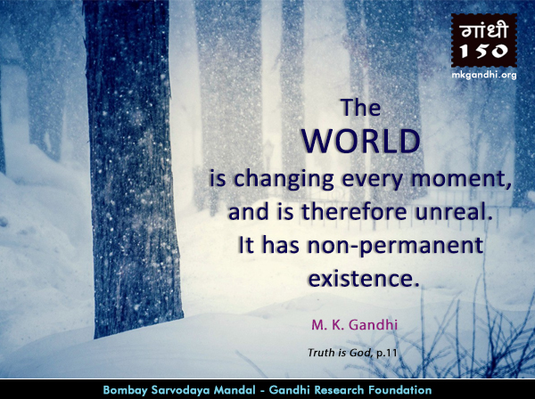 Mahatma Gandhi Quotes on World