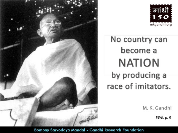 Mahatma Gandhi Quotes on Nation