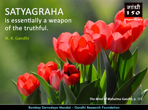 Mahatma Gandhi Quotes on Satyagraha