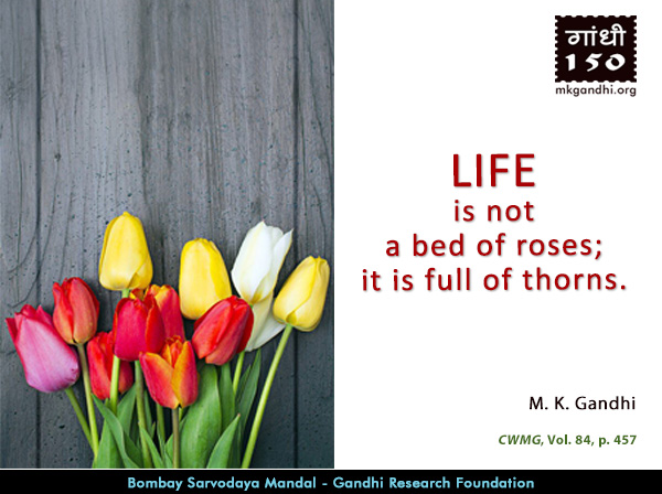 Mahatma Gandhi Quotes on Life