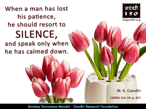 Mahatma Gandhi Quotes on Silence