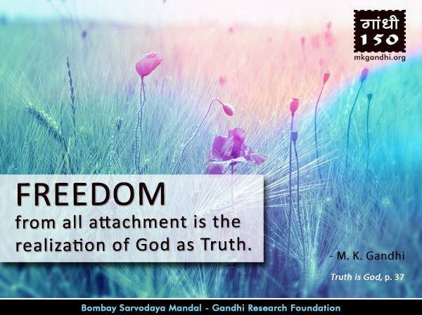 Mahatma Gandhi Quotes on Freedom