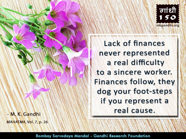 Mahatma Gandhi Quotes on Work