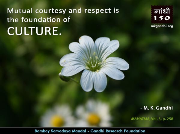 Mahatma Gandhi Quotes on Culture