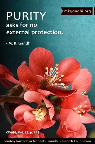 Mahatma Gandhi Quotes on Purity