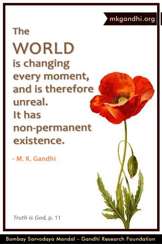 Mahatma Gandhi Quotes on World