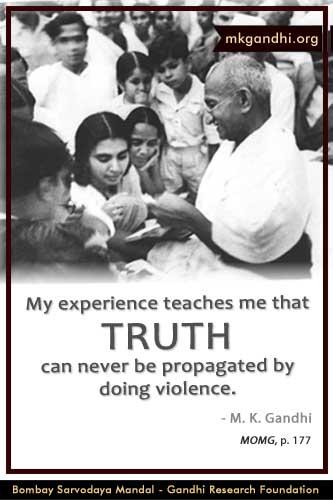 Mahatma Gandhi Quotes on Truth