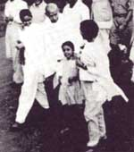 Gandhi with Children