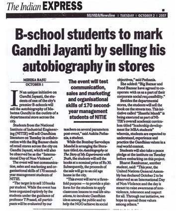 Mk gandhi autobiography